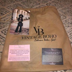 Vintage boho bag.